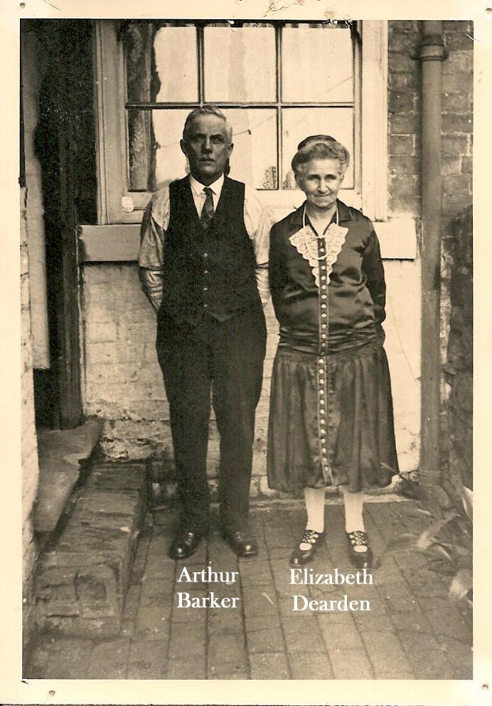 Photo of Arthur Barker and Elizabeth Dearden