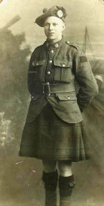Photo of JAMES ARTHUR BARKER– Taken in Holland March 1918. Sent to his sister Marianne Gray in Swansea, York South, York County, Ontario