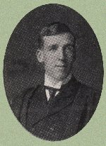 Photo of James Crawford– Torontonensis 1906 (University of Toronto Yearbook), pg. 125.  Caption: James P. Crawford, 107 Givens St., Toronto.  Courses - Political Science and History.  Year Rugby Team; Assoc. Team.
