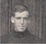 Photo 2 of James Crawford– Torontonensis 1906 (University of Toronto Yearbook), pg. 141.  Caption: J. P. Crawford / 1906 Rugby Team.