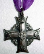 Memorial Cross (front)– Memorial (Silver) Cross, close-up of front (photo 2 of 3)