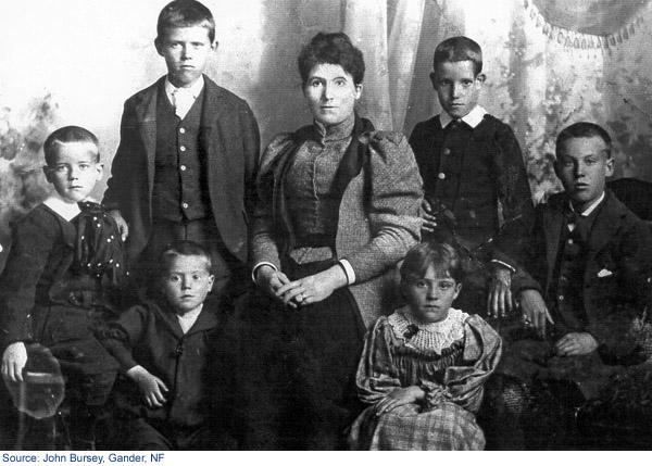 Une photo de la famille Cahill
