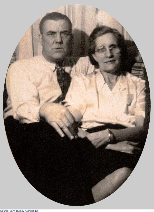 Son frère John et sa femme