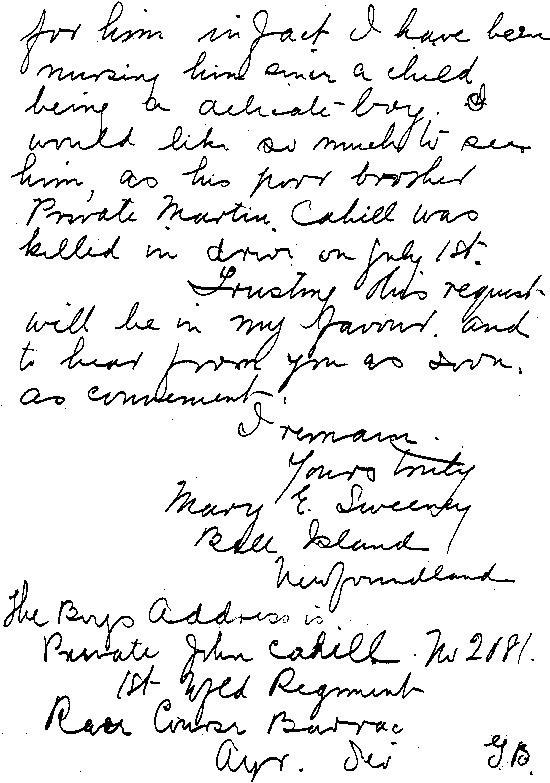 Lettre à R.H. Bennett - page 2