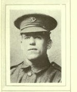 Photo of Martin Joseph Cahill– In memory of the men would served in the Royal Newfoundland Regiment during World War I and did not return home.  Submitted for the project Operation: Picture Me.