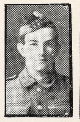 Photo of STANLEY CECIL WARRELL– Photo from the National Memorial Album of Canadian Heroes c.1919. In memory of the members of the 15th, 92nd and 134th Battalions (48th Highlanders) who went to war and did not return. Submitted for the project, Operation: Picture Me.
