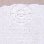 Grave marker– Photo provided by The Commonwealth Roll Of Honour Project. Volunteer Carol and Herb Thomas