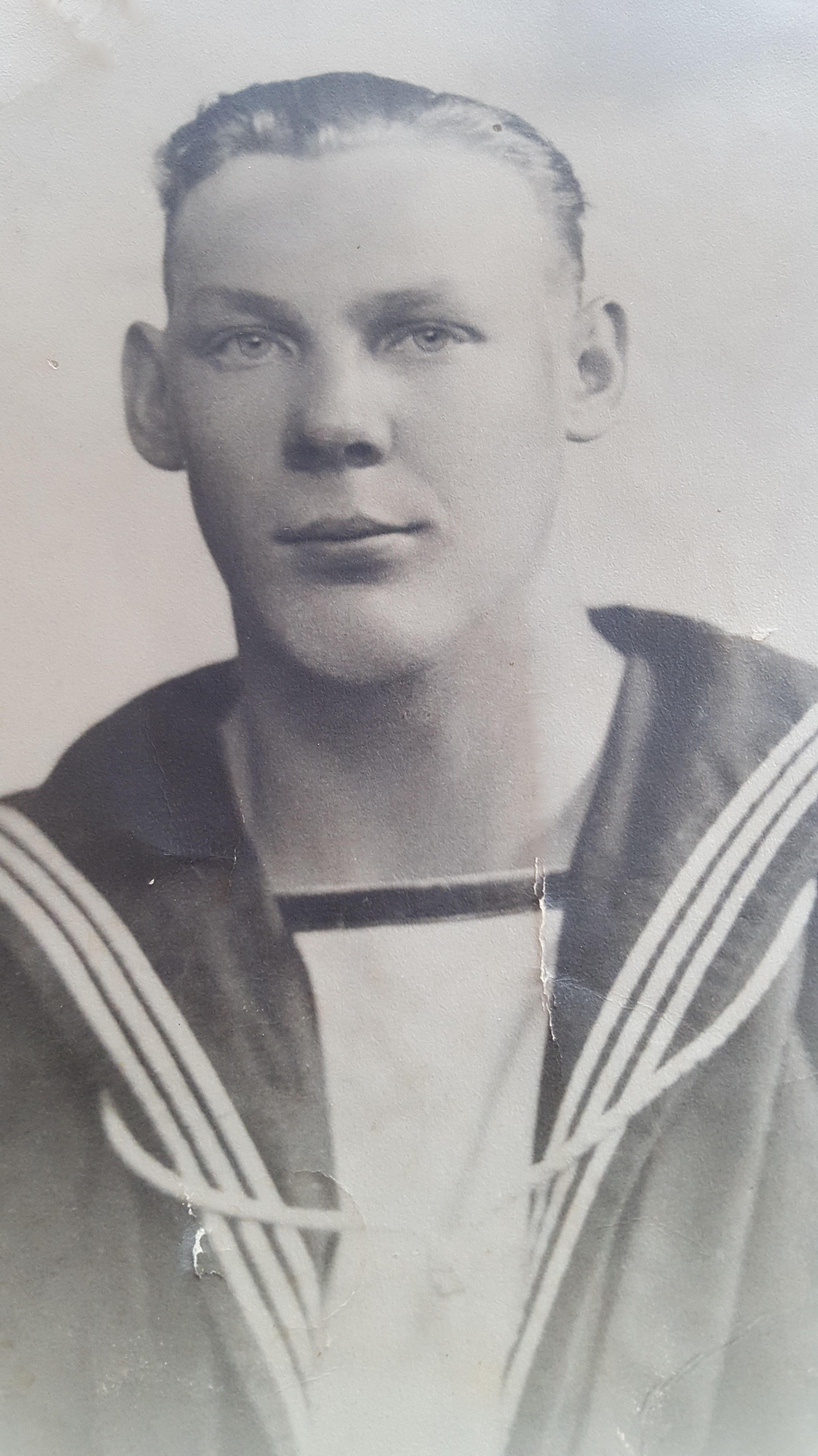 Photo of Milton Elmer Dwyer– My Uncle Milton  Elmer Dwyer