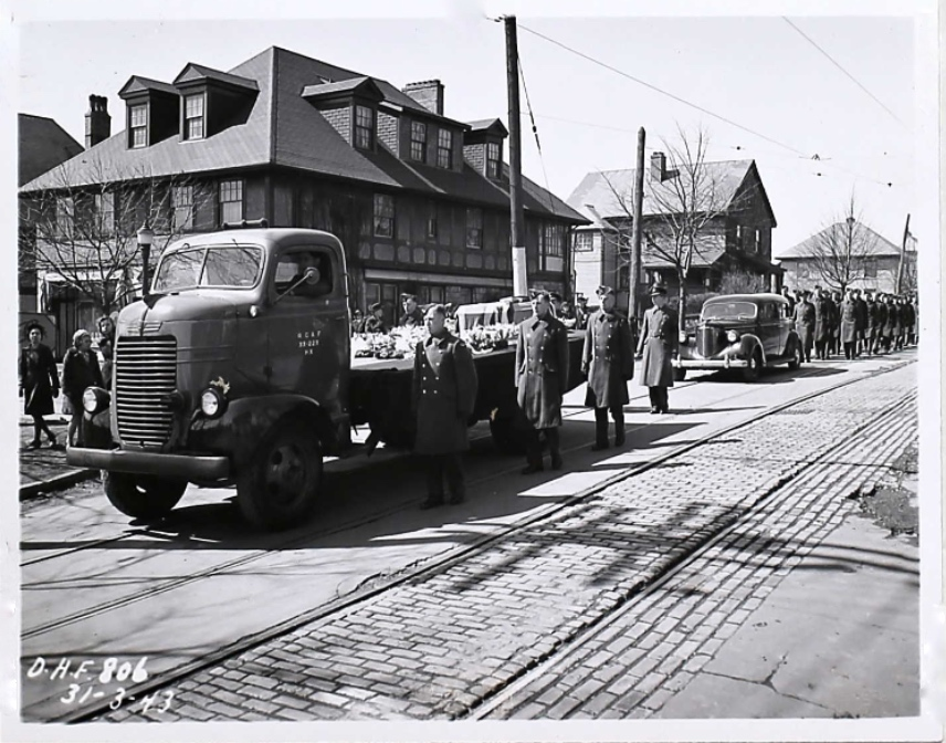 Funeral Procession - March 31, 1943