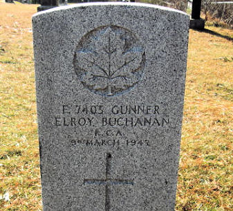 Grave Marker– Grave marker at Dall's Cemetery, Lower Sandy Point, Shelburne Co., N. S.