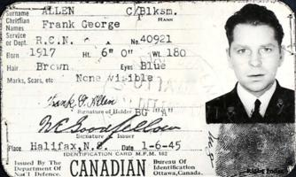 Identity Card– Submitted for the project, Operation Picture Me