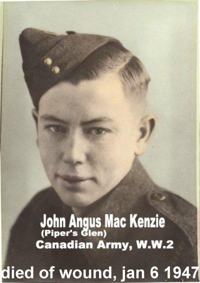 Photo of John Angus MacKenzie