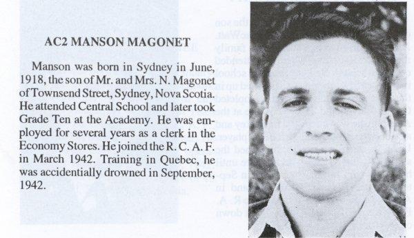 Photo of Manson Magonet
