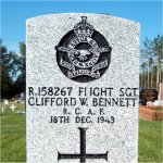 Grave Marker– Photo Courtesy of Gander War Cemetery: A Digital exhibit sponsored by Canada's Digital Collection