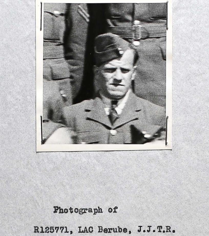 Photo of JOSEPH JEAN THOMAS BERUBE