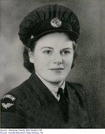 Picture of Elizabeth Genevieve Woodman– Elizabeth in her uniform