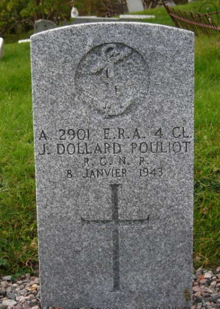 Grave marker– Image shared by family member
