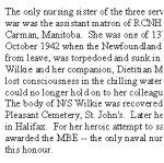 Canada's Nursing Sisters– Source: Canada's Nursing Sisters by GWL Nicholson, Samuel Stevens Hakkert & Company, Toronto, 1975