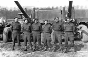 Photo of JOHN REGINALD DOCHERTY– John is second from right. Submitted for the project, Operation Picture Me