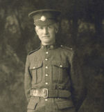 Photo of Robert Jackson Baird– Born Oct 1888, Park River, ND, USA.