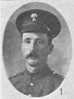 Photo of George Alfred Garrett– In memory of the men who served with the 87th Battalion CEF. Submitted for the project, Operation: Picture Me