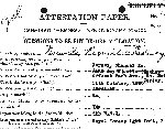 Attestation Papers– Source Library and Archives Canada Soldiers of the First World War.