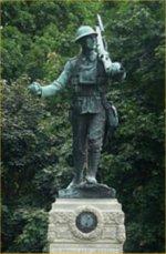 Monument – Mémorial de guerre d¿Orangeville (comté Dufferin) Ontario.