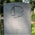 Gravemarker– His grave in Roeselare Communal Cemetery, Roeselare, Belgium