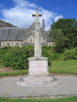 Memorial– This is a general view of the Aberfoyle War Memorial, Perthshire on which Gavin Wilson's name is commemorated.