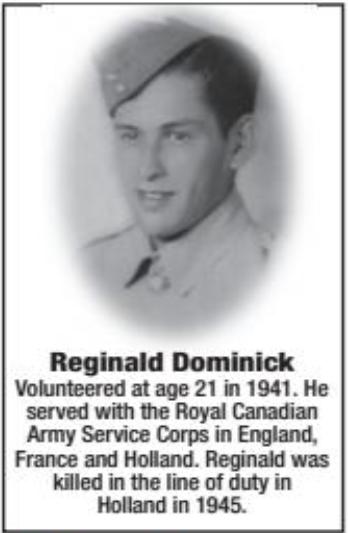 Photo of REGINALD DANIEL DOMINIC