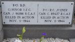 Inscription sur la pierre tombale – Grave in Linne, Holland, May 2007