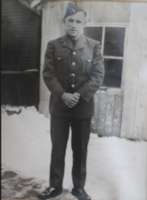 Photo of LESTER ELWOOD HOGGARD– In memory of men and women from the Ravenna Ontario area that went off to war and to those who did not come home they will never be forgotten. Submitted for the project, Operation Picture Me