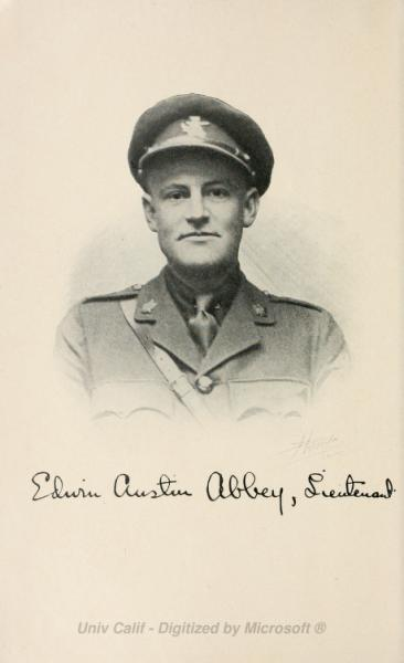 Photo of Edwin Austin Abbey