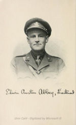 Photo of Edwin Austin Abbey– Photo from the book An American Soldier:
