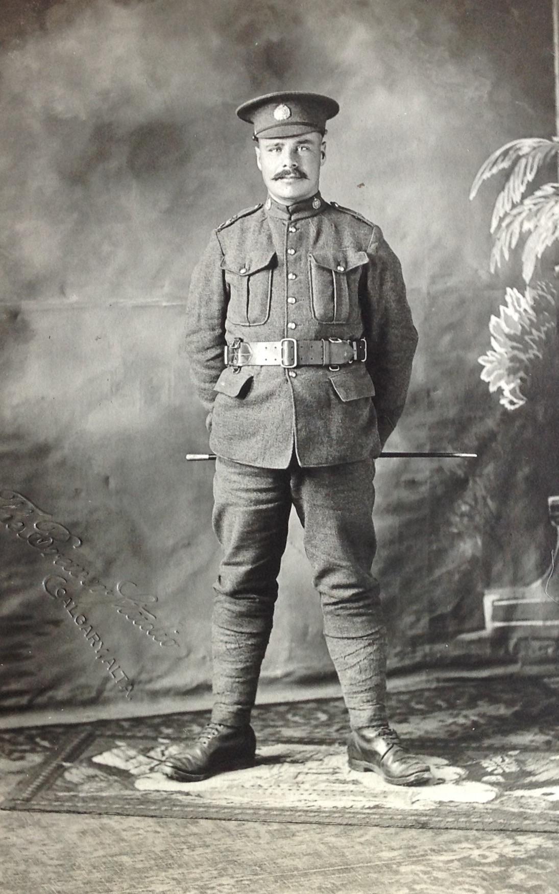 Photo of Joseph Raoul Roy– in uniform