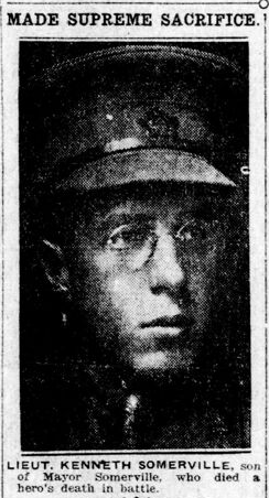 Newspaper clipping– From the London Free Press March 1918. Submitted for the project Operation Picture Me