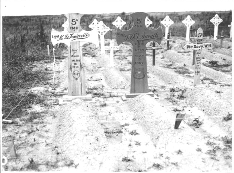 Temporary Grave Marker– St. George's PS London Honour Roll