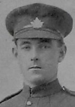 Photo of James Archibald Anderson– Pte J A Anderson from the December 1918 edition of The Christmas Echo published in London Ontario  --And in the Morning
