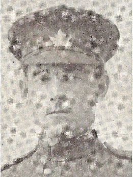 Photo of JAMES ARCHIBALD ANDERSON– photo of James Archibald Anderson from London Honour Roll