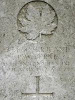 Grave Marker– Photo BGen G. Young 15th Battalion Memorial Project Team   DILEAS GU BRATH