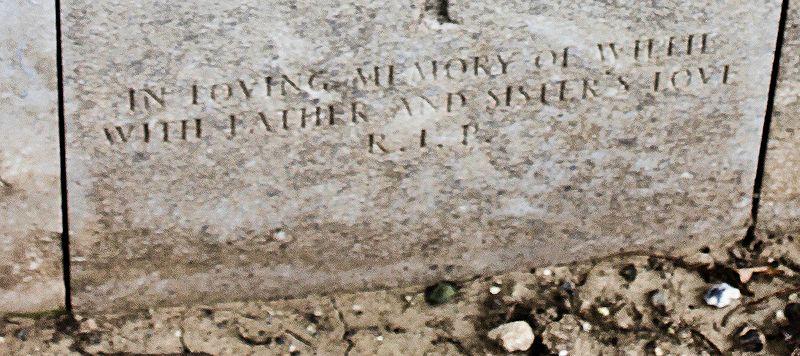Inscription– John & Anne Stephens 2013