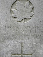 Grave Marker– Photo by BGen(ret'd) G.Young, submitted by Capt (ret'd) V. Goldman 15th Bn Memorial Project.  DILEAS GU BRATH