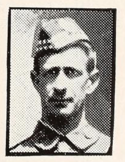 Photo of EVAN JAMES CHAPPELL– Photo from the National Memorial Album of Canadian Heroes c.1919. In memory of the members of the 15th, 92nd and 134th Battalions (48th Highlanders) who went to war and did not return. Submitted for the project, Operation: Picture Me.