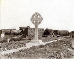 Vimy Cross– Vimy Cross erected by the 15th Battalion following the 9 April 1917 battle at Vimy Ridge to commemorate those who fell during the engagement.  Photo from the archives of the 48th Highlanders Museum, Toronto.  Provided by BGen (ret) G Young and submitted by Capt (ret) V Goldman of the 15th Battalion Memorial Project.  DILEAS GU BRATH
