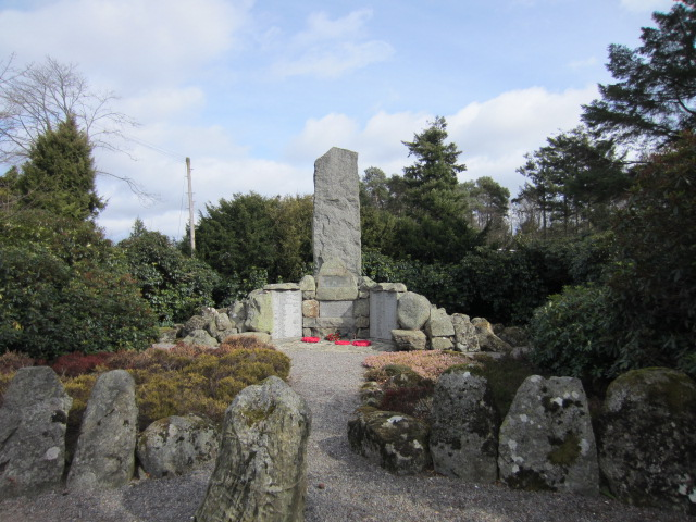 War Memorial– The War Memorial in Torphins, Aberdeenshire, Scotland. Image taken 30 March 2015 by Tom Tulloch.