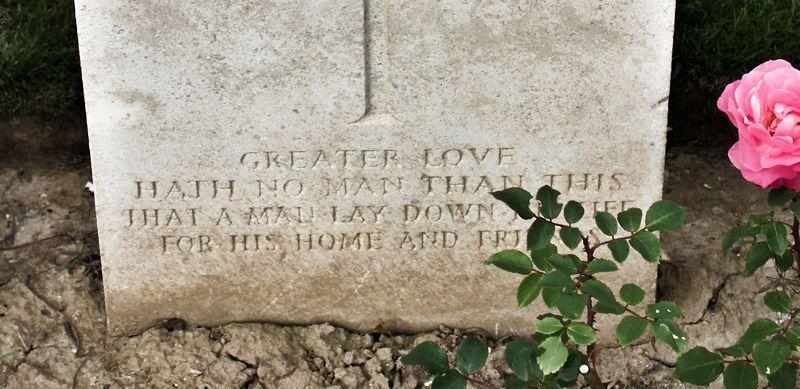 Inscription– Inscription   (John & Anne Stephens 2013)