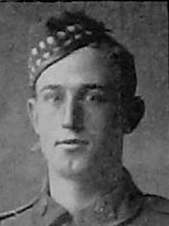 Photo of WILFRED TRUMAN NEELY– Pte W T Neely from the December 1918 edition of The Christmas Echo published in London Ontario  --And in the morning.