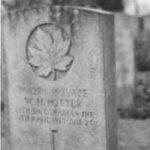 Pierre tombale – Sepulture de William Henry Potter