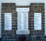 Mémorial – Ce mémorial a été érigé par le chapitre du mont Rundle de l'Imperial Order Daughters of the Empire en hommage aux citoyens de la localité morts durant les Premières et Seconde Guerres mondiales.