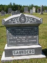 Inscription– Inscription on back of parents Headstone in Morristown, Nova Scotia.